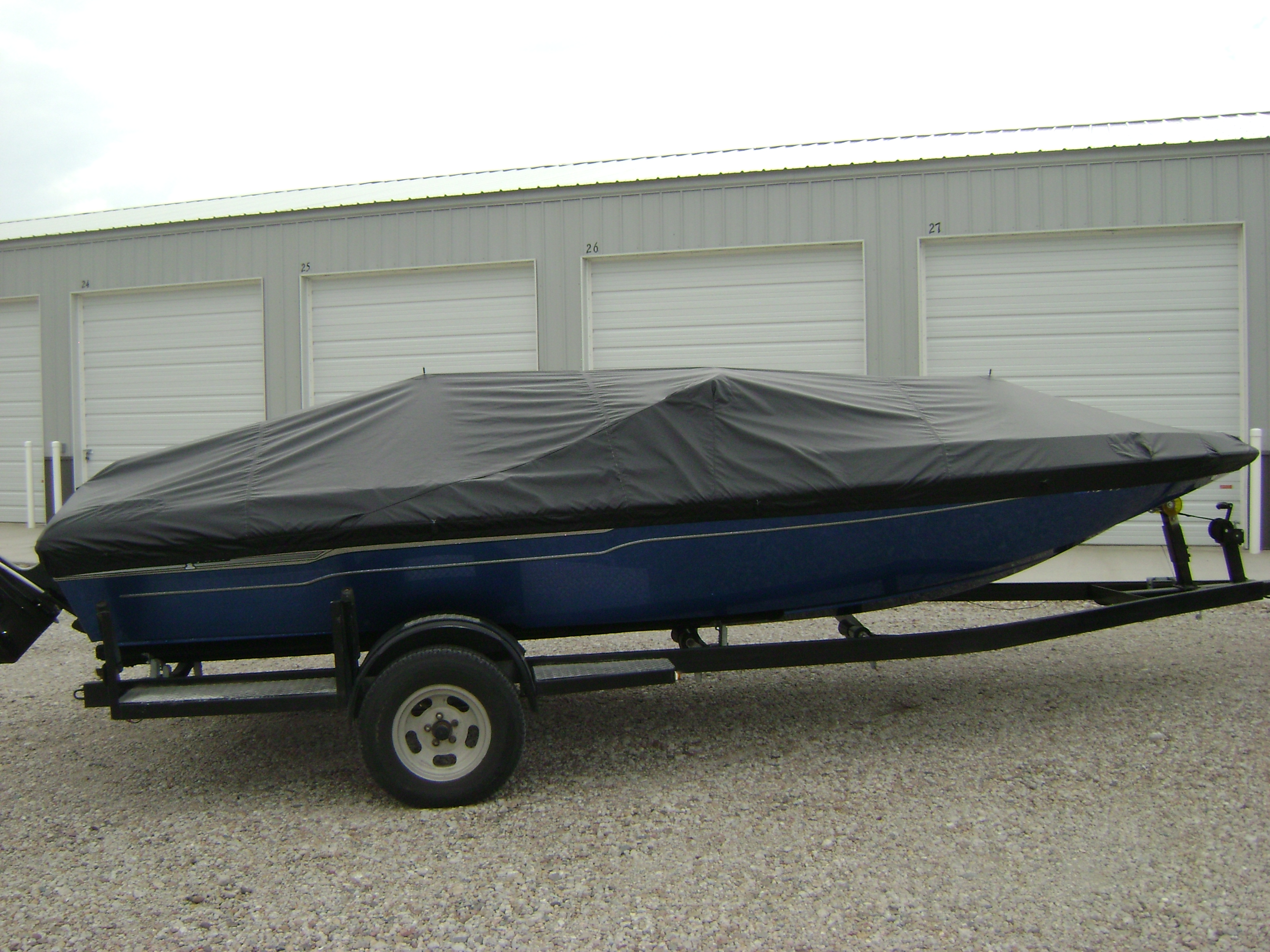 Boat 215 Angola Canvas Boat Covers